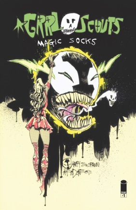 GRRL Scouts Magic Socks #1