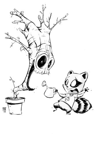 I_Am_Groot_1_Young_Black_White_Variant