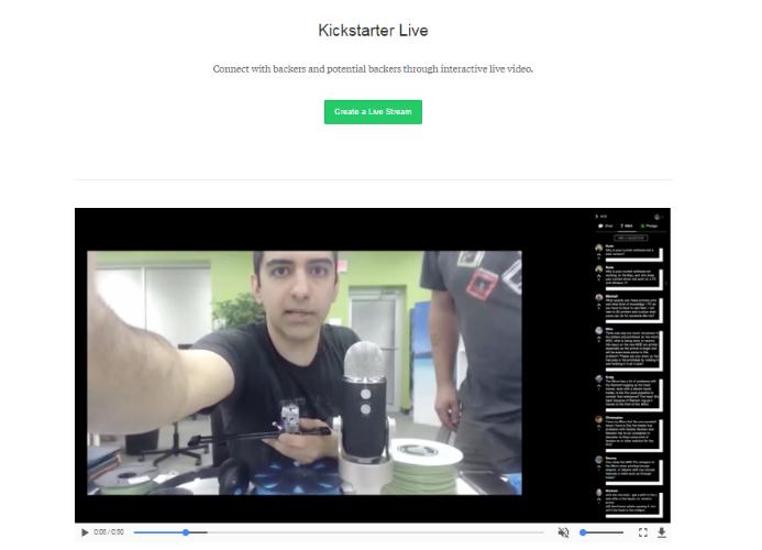kickstarter live image