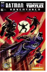 Neal Adams Batman TMNT Adventures #6 Exclusive