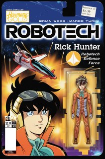 Robotech Issue 1 Cover C Blair Shedd