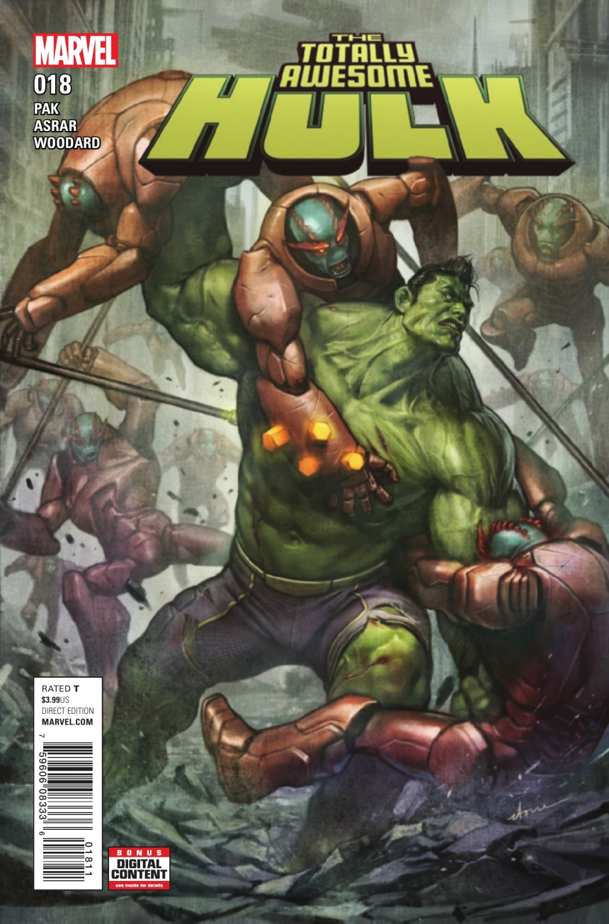 Preview: The Totally Awesome Hulk #18