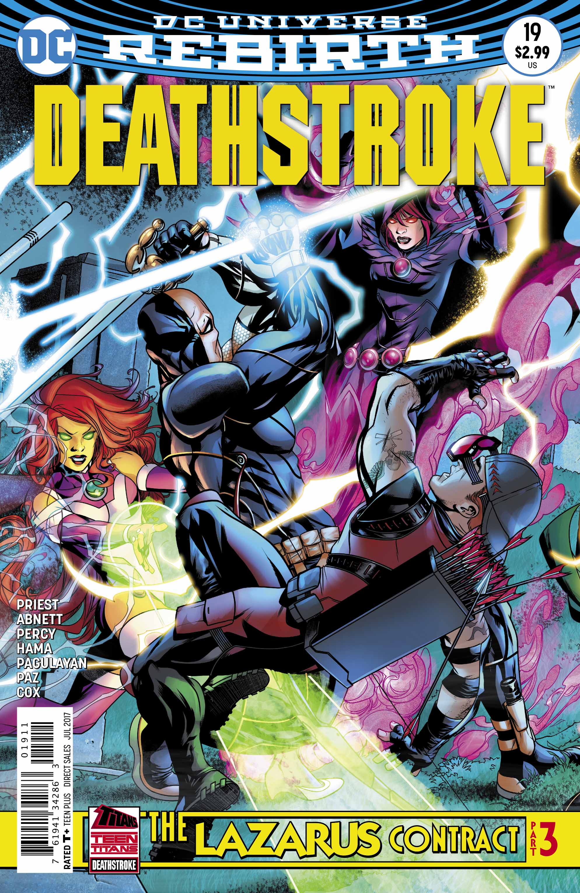 Preview: Deathstroke #19