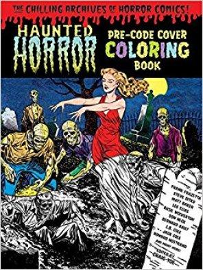 Haunted Horror Coloring Book