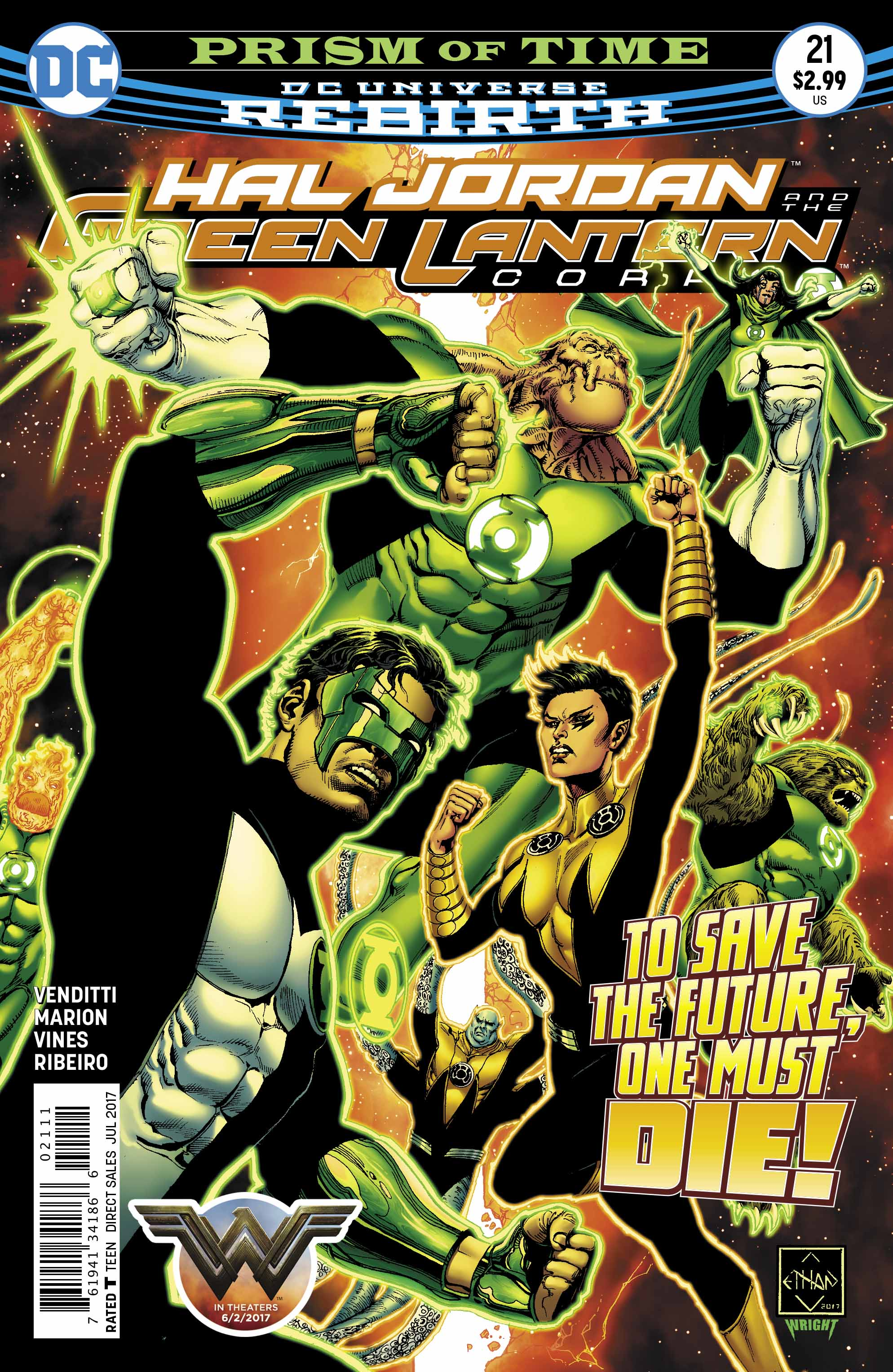 Preview: Hal Jordan and the Green Lantern Corps #21