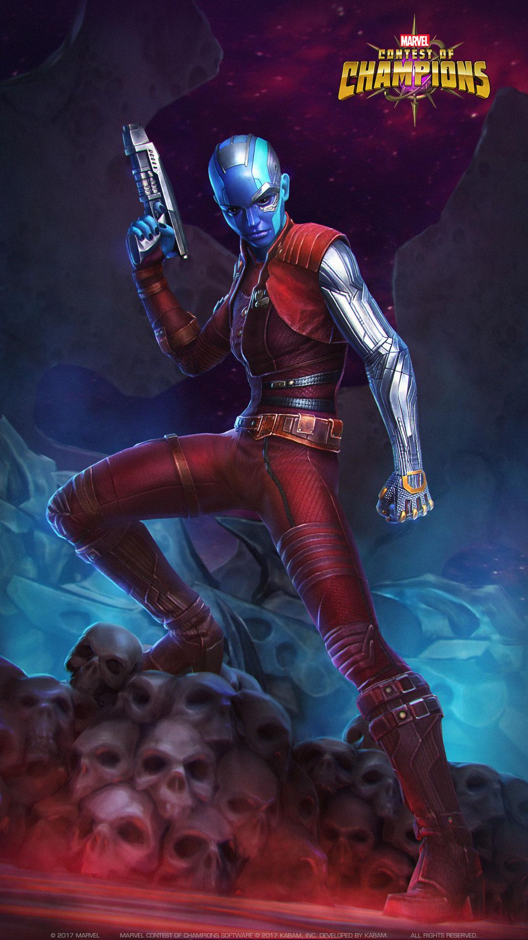 Guardians Of The Galaxy Nebula