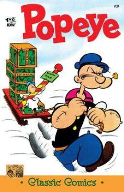 Popeye Comics Yoe