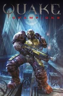 Quake #1 Cover A by Alan Quah
