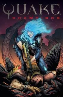 Quake #1 Cover D by Tazio Bettin