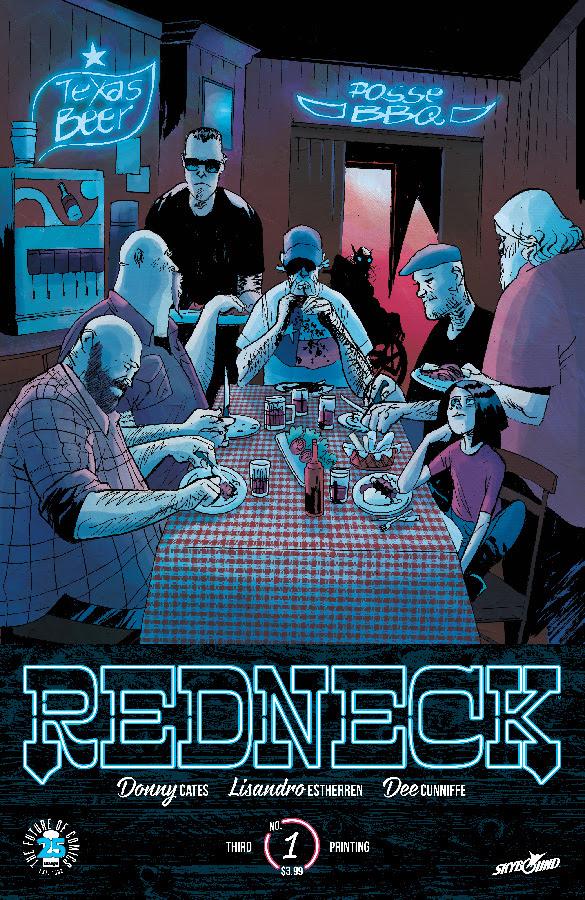 Donny Cates & Estherren's Redneck Goes Back to Print