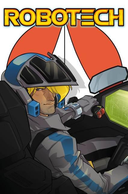 ROBOTECH ISSUE 3 COVER B KARL KERSCHL