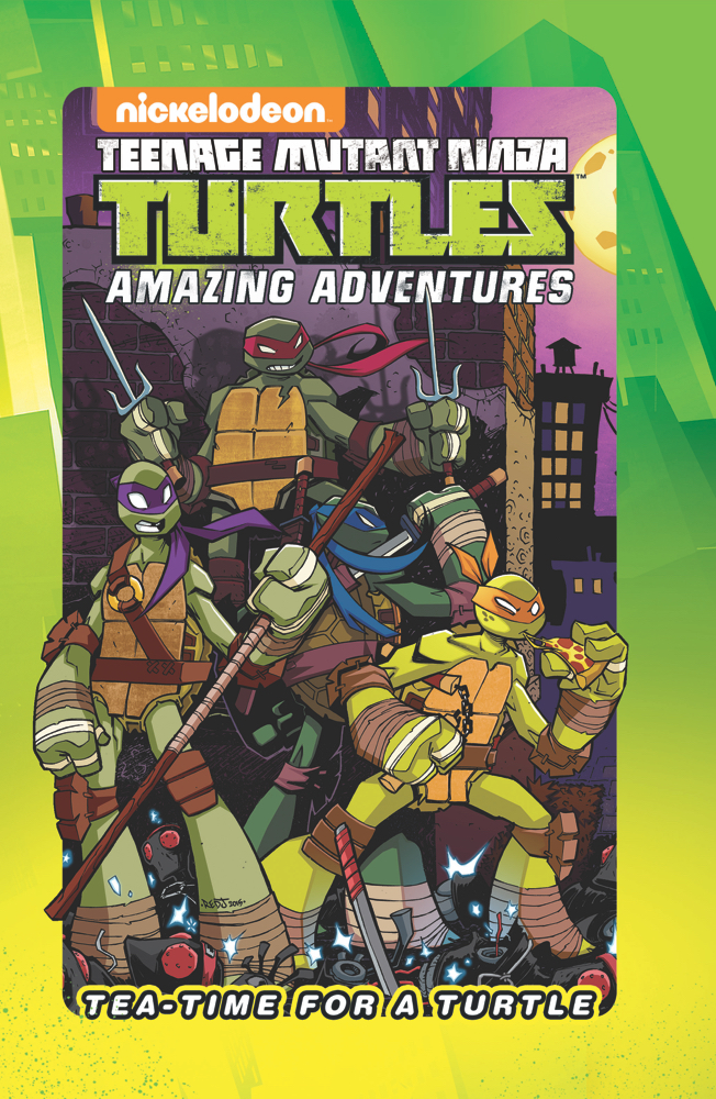 Preview: Teenage Mutant Ninja Turtles: Tea-Time for a Turtle
