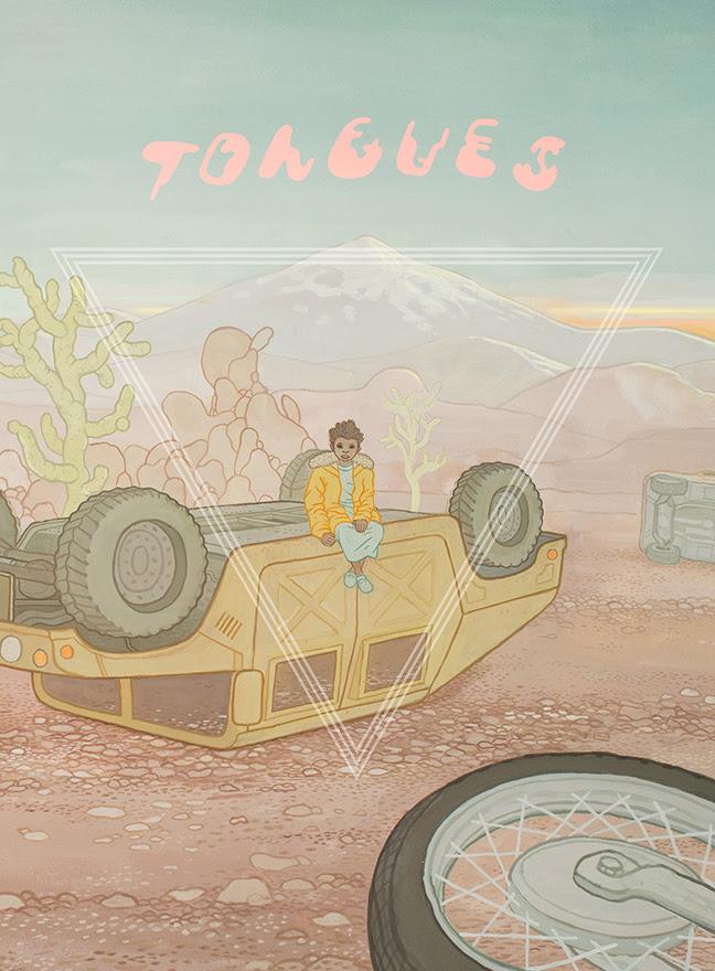 "Anders Nilsen's New Graphic Novel ""Tongues"" Retells the Greek Myth of Prometheus"