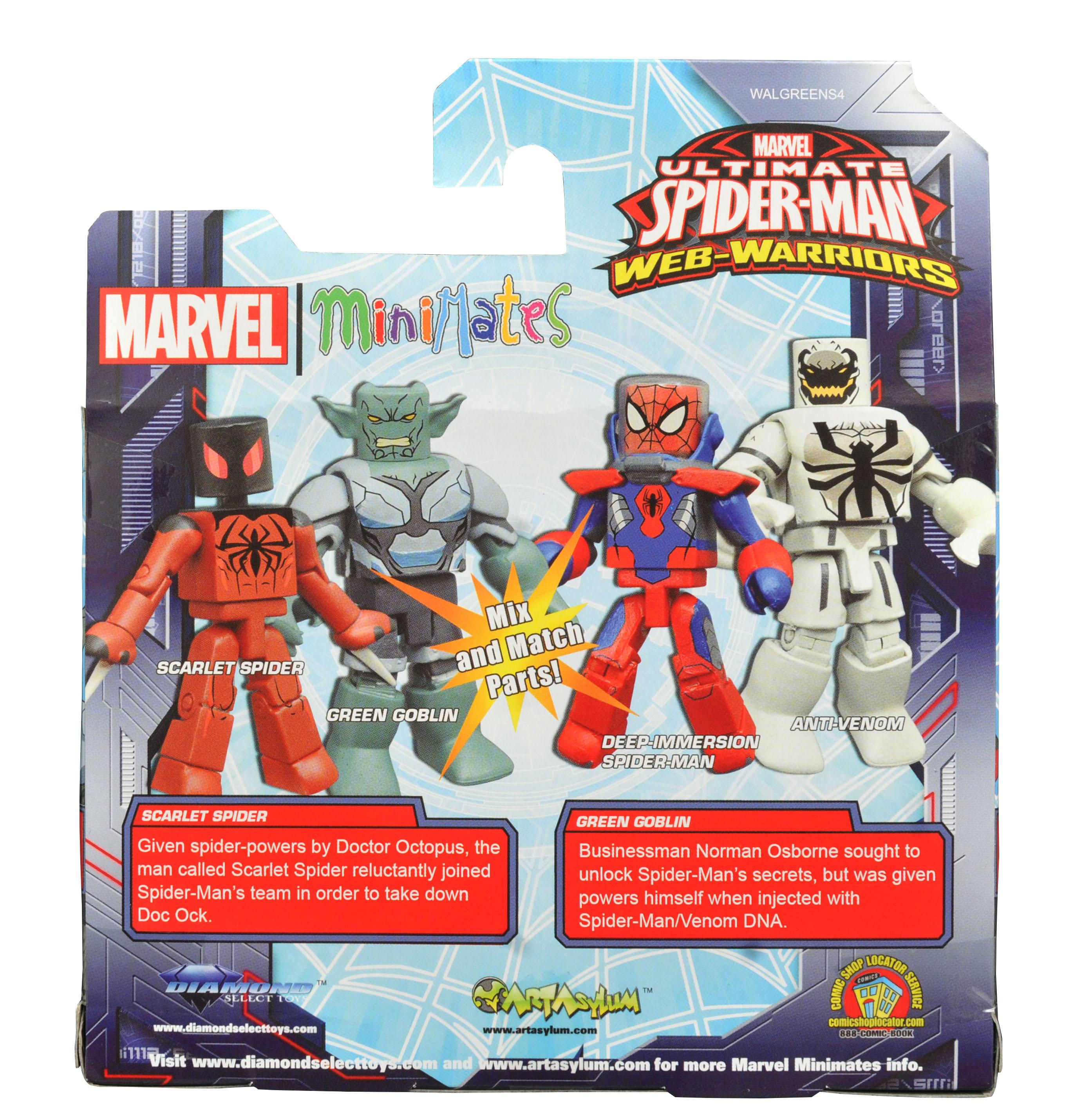 Marvel Minimates Walgreens Wave 4 Web Warriors Deep Immersion Spider-Man