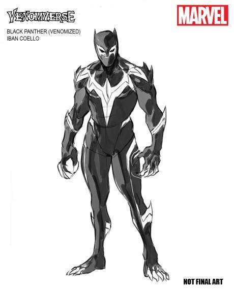 VENOMVERSE Black Panther Design