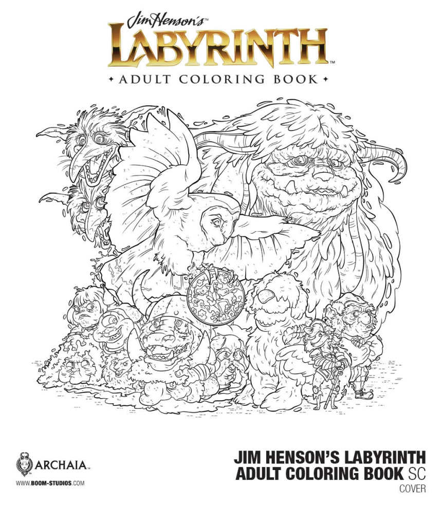 Jim Henson Labyrinth Coloring Pages Sketch Coloring Page