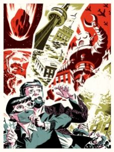 Michael Cho-Toronto-Apocalypse