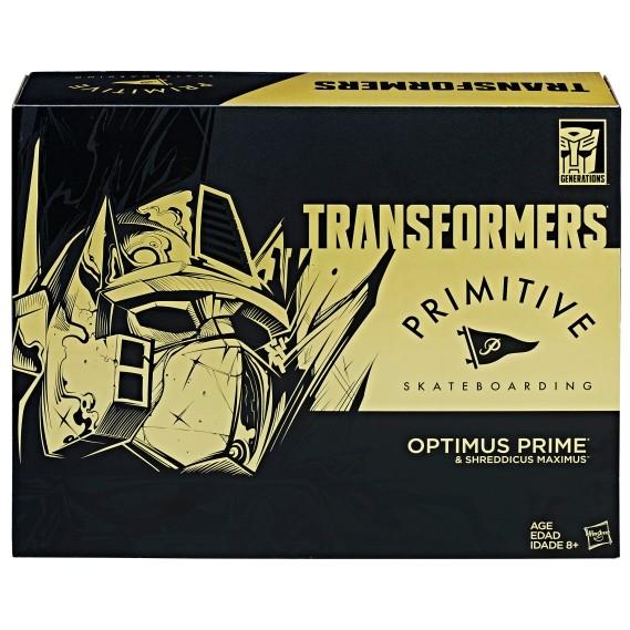TRANSFORMERS PRIMITIVE OPTIMUS PRIME Figure_pkg