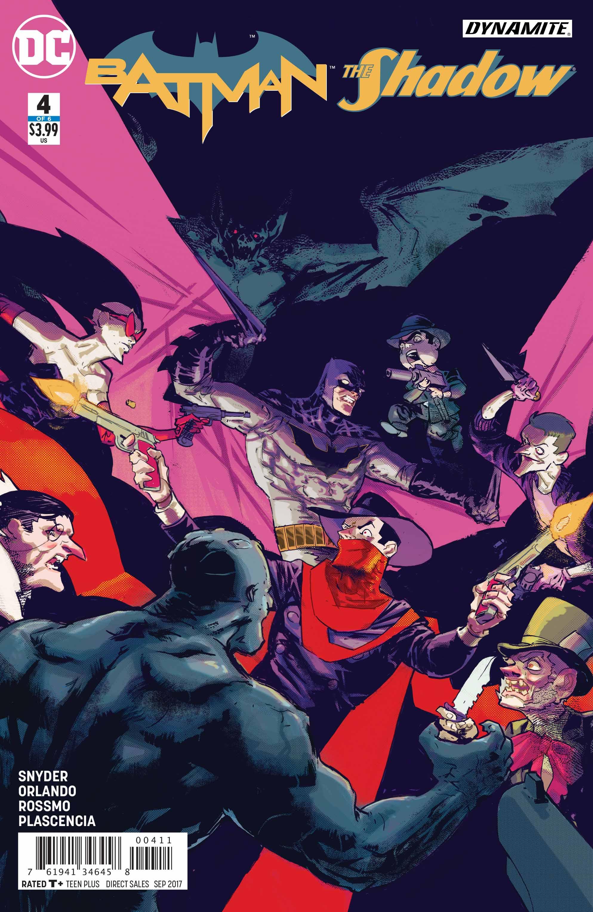 Preview: Batman/The Shadow #4