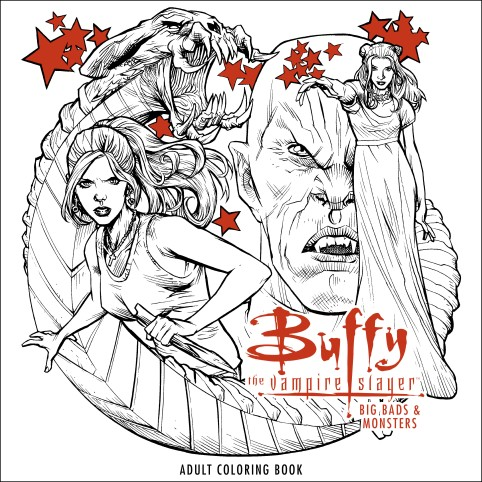 Buffy - Big Bads and Monsters Coloring Book