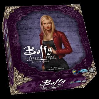Buffy Board Game - 3D Box