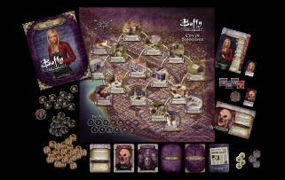 Buffy Board Game - Inside Box