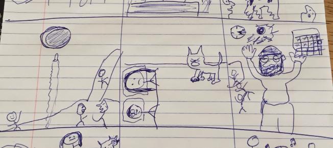 Creators Corner: Exercises in Cartooning: Week 3