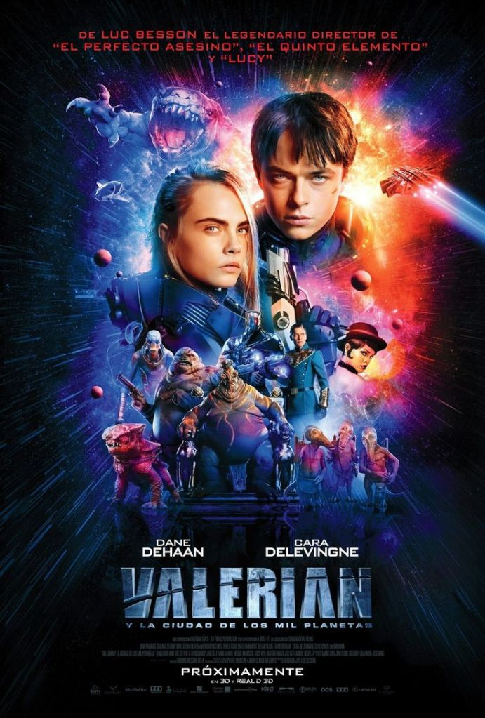 valerian french poster