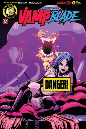 Vampblade Season 2 #5 Cover F