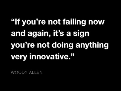 woody allen failure quote